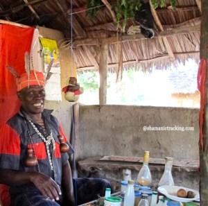 Kenyan shaman Dr. Musa